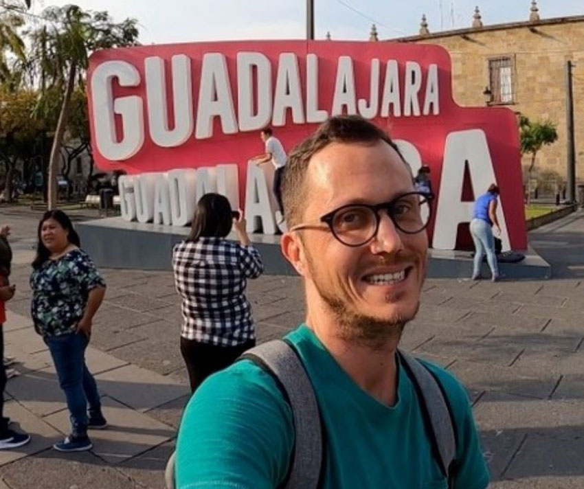 Blake Wilkinson came to Mexico to visit Guadalajara and never left.