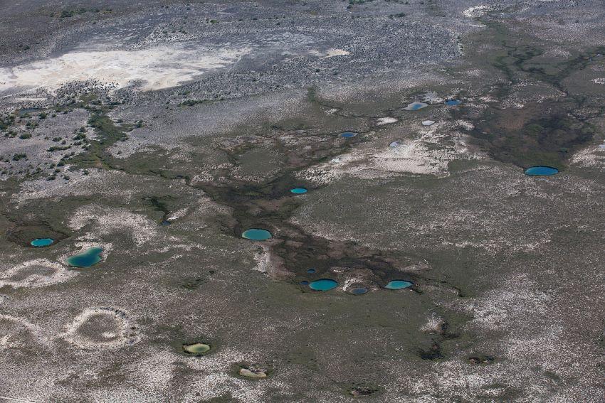 Cuatrociénegas Valley at times looks more like Mars than Earth