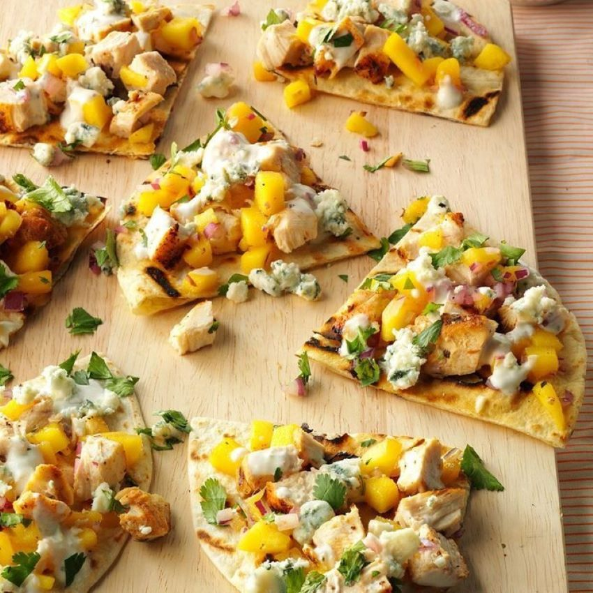 These mango and feta appetizers are easy to make but hard to stop eating.