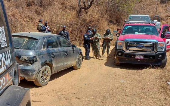 A security operation in Zacualpan