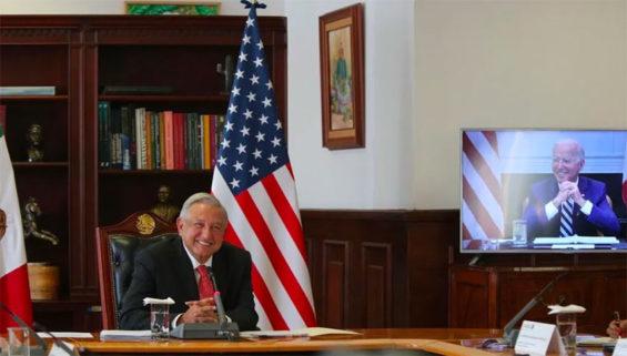López Obrador and Biden
