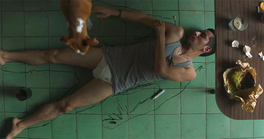 A scene from the award-winning film,