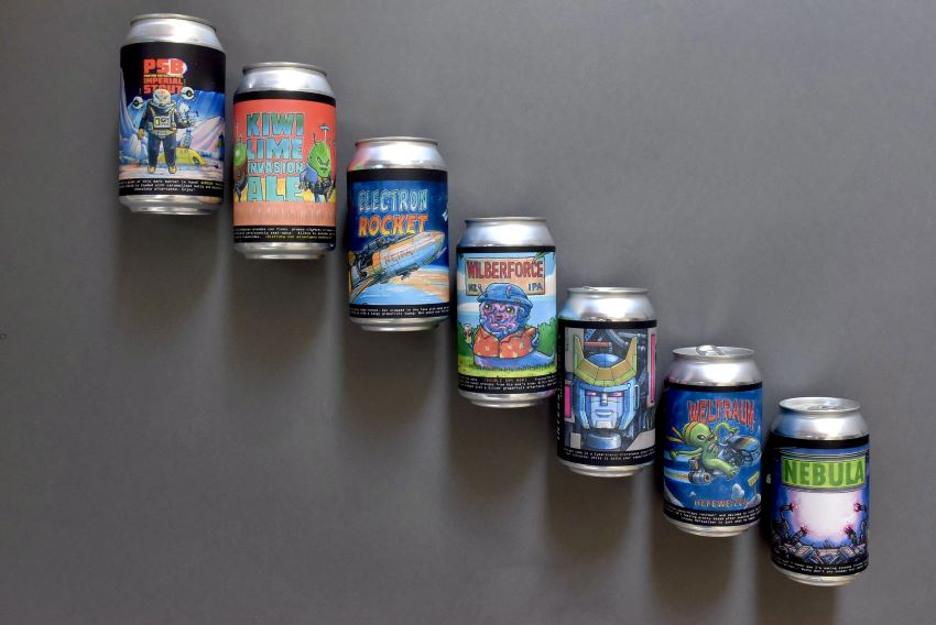 Mexico City's Interstellar Brewery tries out bold brewing experiments such as their grapefruit IPA or their vanilla-infused 13% alcohol stout.