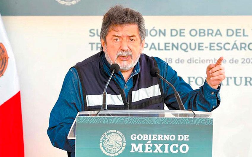 Fonatur chief Jiménez.