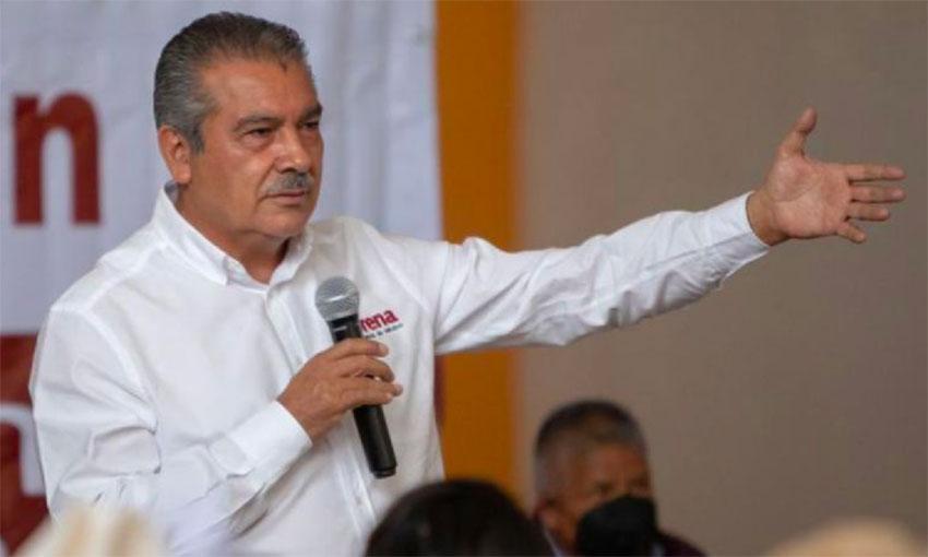 Raúl Morón, candidate for governor of Michoacán