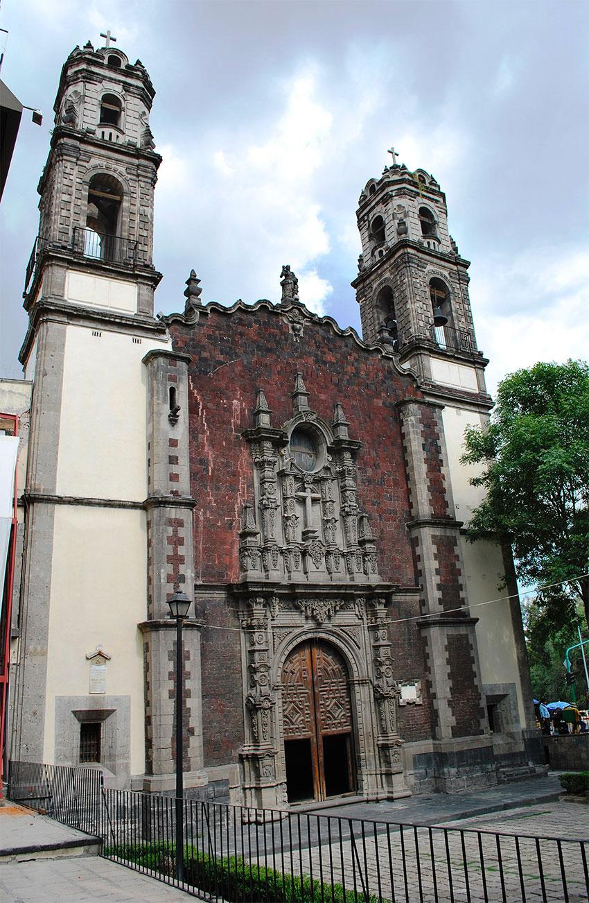 The church of the Santa Veracruz