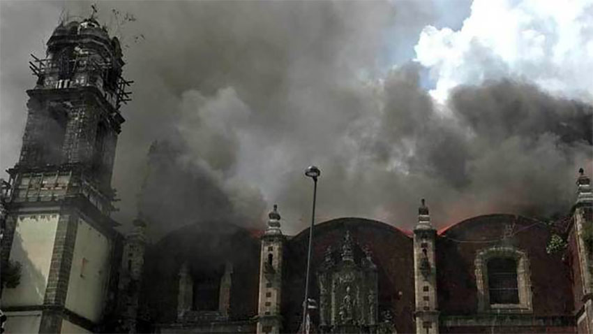 Court rules archaeological institute must repair historic Mexico City church