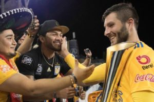 André-Pierre Gignac, a French soccer player for Los Tigres, became a Mexican citizen in 2019 and is beloved by fans for embracing his adopted nation.