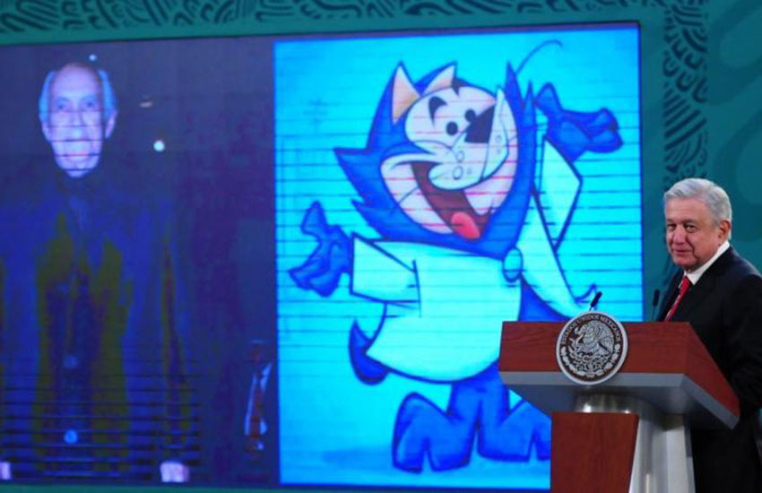 AMLO's press conferences may have to stick with safer topics like eulogizing Jorge Arvizu, an actor he likes who voiced a character in Mexico's version of Top Cat.