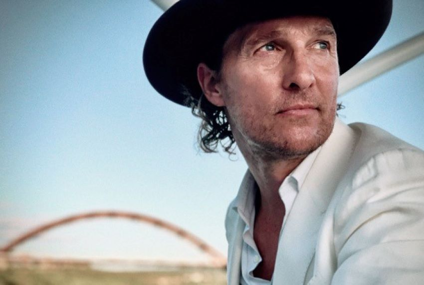 Actor Matthew McConaughey's memoir Greenlights came out in 2020 and reached the top of the New York Times bestseller list.