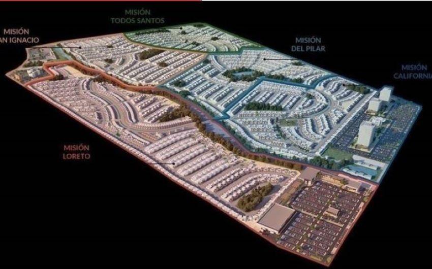Plans for the sprawling Misión Punta Norte project in La Paz.