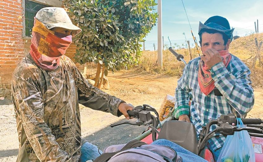 """""""We were displaced … without knowing the reason or the motives,"""" said Rafael, an El Maguey, Jalisco, resident forced out of town at gunpoint."""