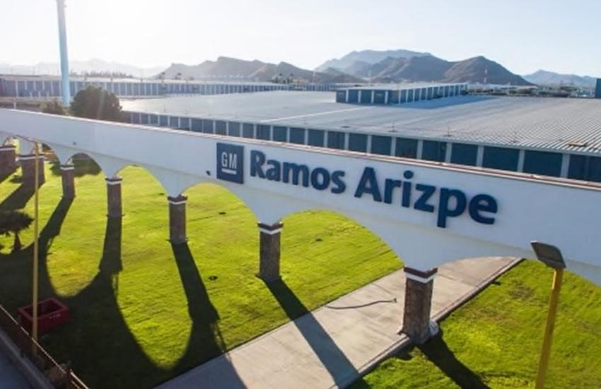 GM's plant in Ramos Arizpe.