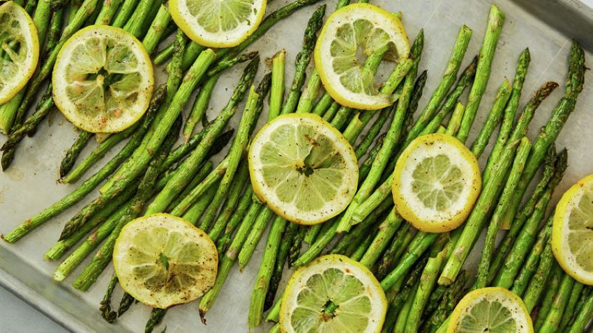 Roasting asparagus is a quick and easy way to get your veggies.