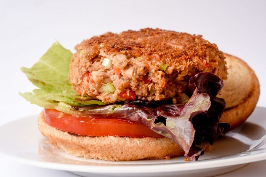 You'll find yourself quickly addicted to these tuna burgers.