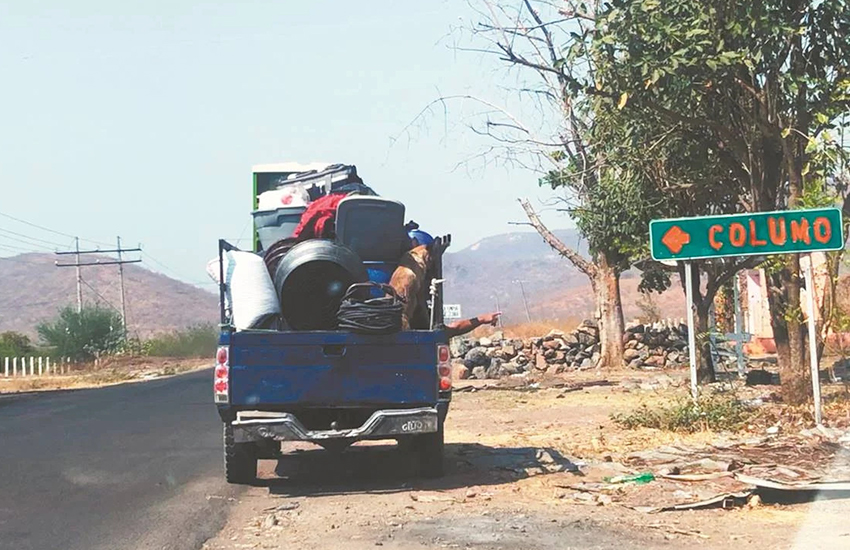 Residents are fleeing cartel violence