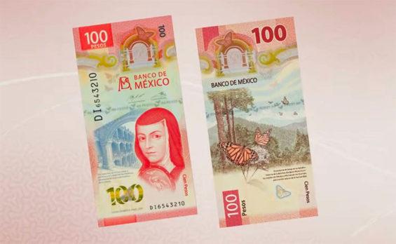 The 100-peso note