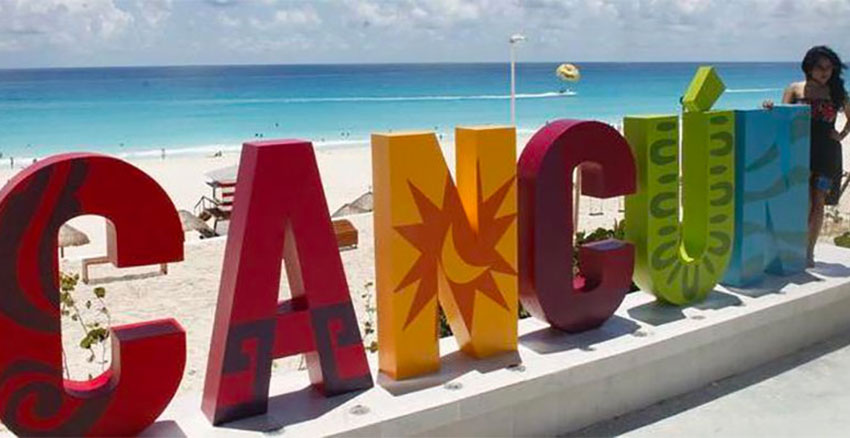 Cancún will be the most popular destination