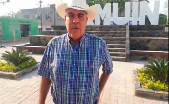 Candidate Claudio Vega