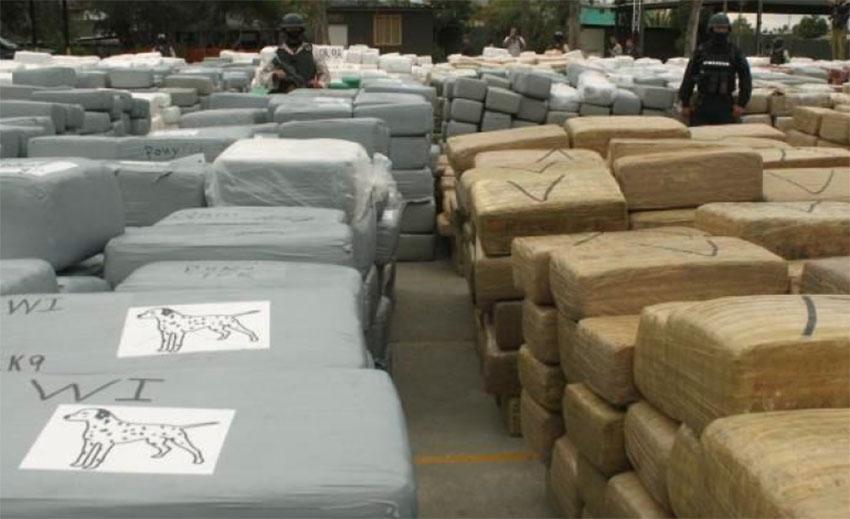 A 2.5-tonne fentanyl seizure in Sinaloa in February.