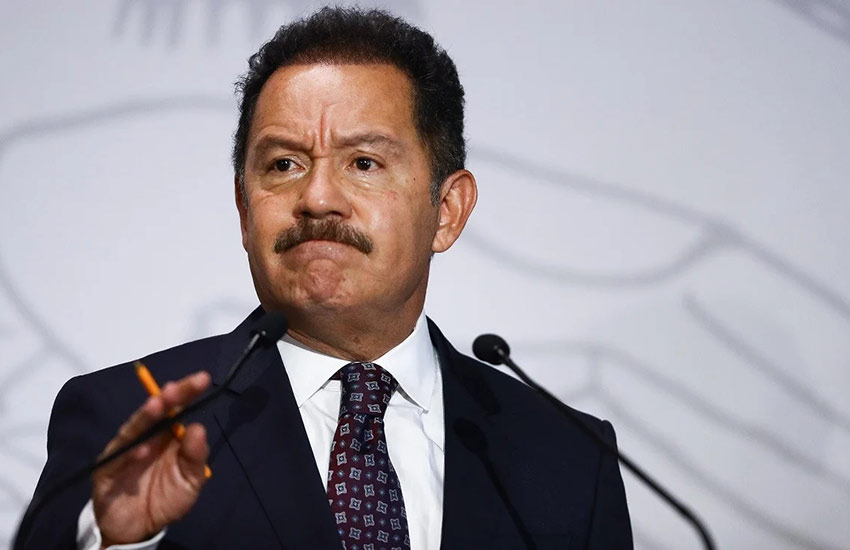 Morena Party leader in the lower house of Congress Ignacio Mier Velazco declined to comment on Huerta's case, calling it unrelated to Huerta's position.