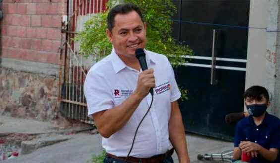 Mayoralty candidate Portillo.