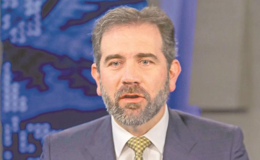National Electoral Institute president Lorenzo Córdova.