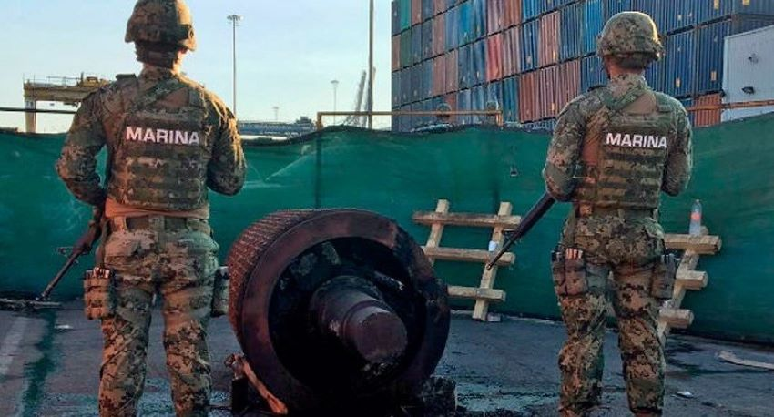 The military and the federal government have ramped up supervision in recent weeks at ports in Tamaulipas to try and stop illegal fuel smuggling.