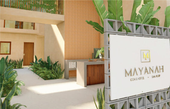 A Monific hotel project in Bacalar.