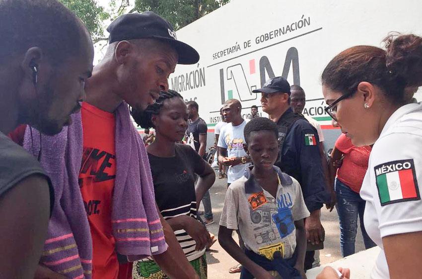 Haitian migrants