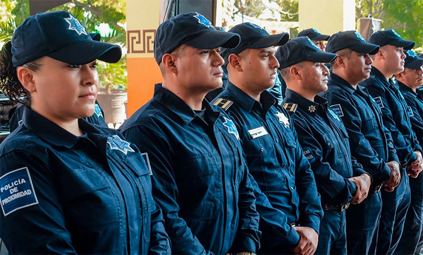 municipal police