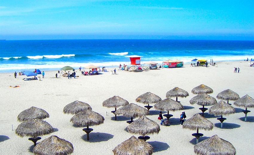 Rosarito Beach, near the Cantamar development in Baja California.