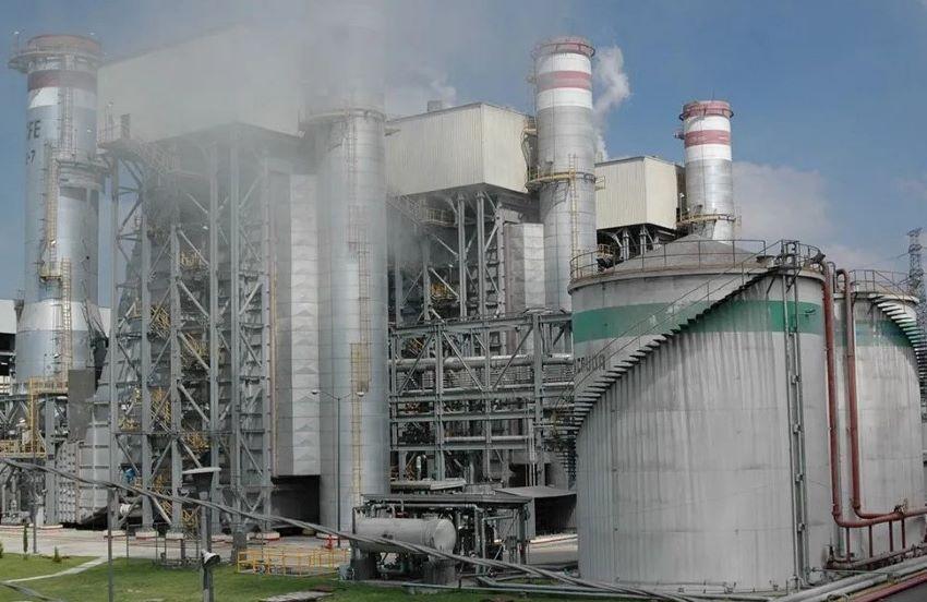 CFE's power plant in Tula, Hidalgo.