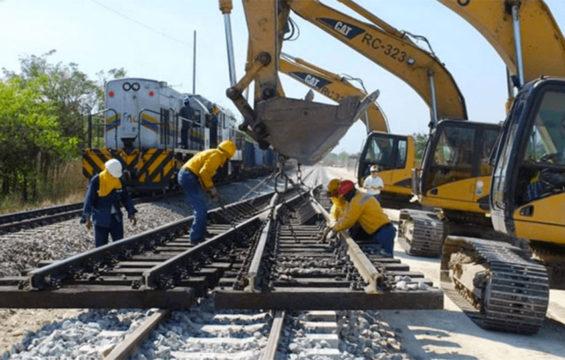 maya train tracks