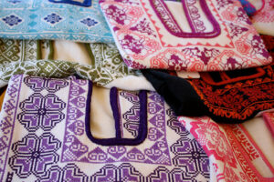 Traditional cross stitched blouses from Zipiajo