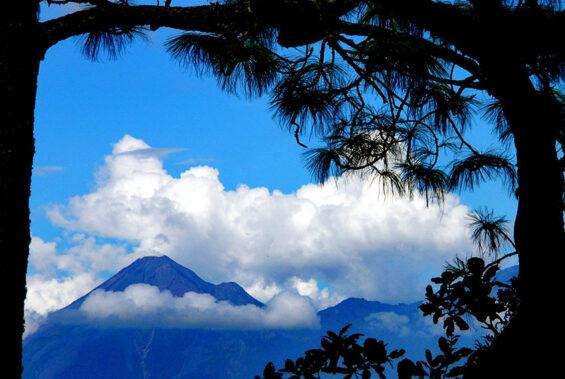 Volcán de Fuego volcano, Jalisco