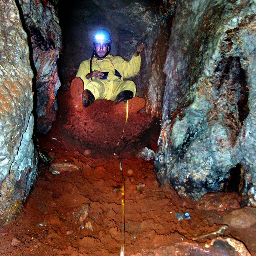 Sierra Lalo caver