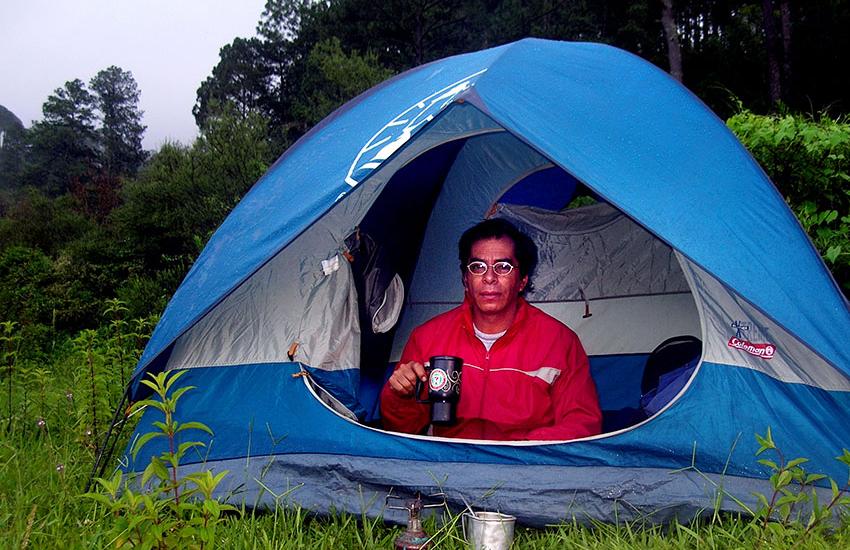 Cave explorer Mario Guerrero Sierra Lalo