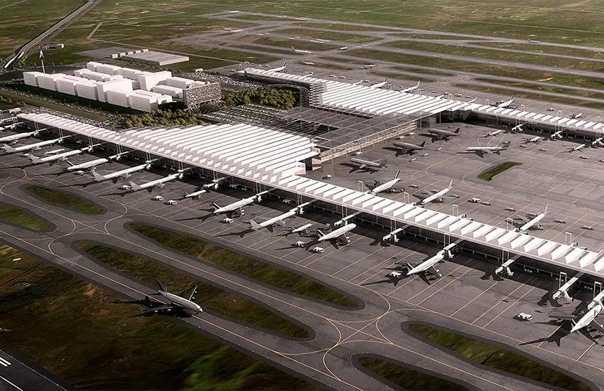 Felipe Ángeles International Airport render