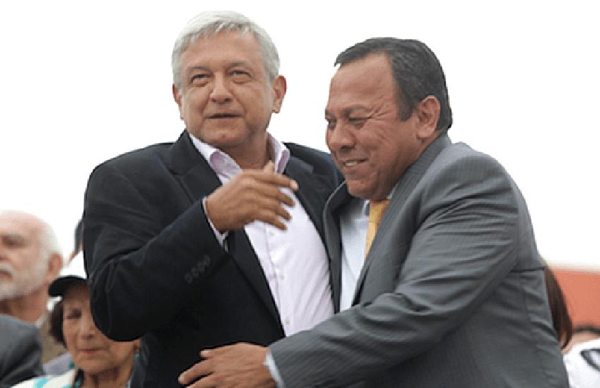 President López Obrador and Jesús Zambrano
