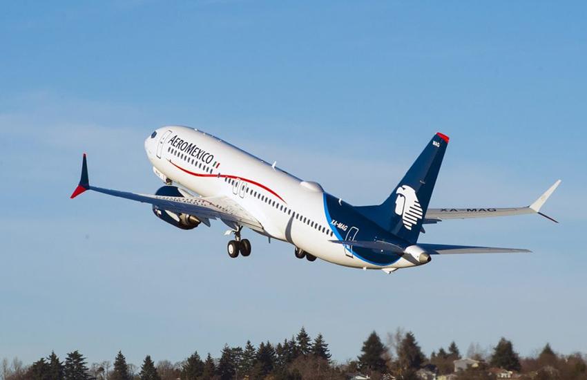 Aeromexico jet