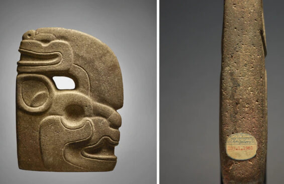 Maya effigy