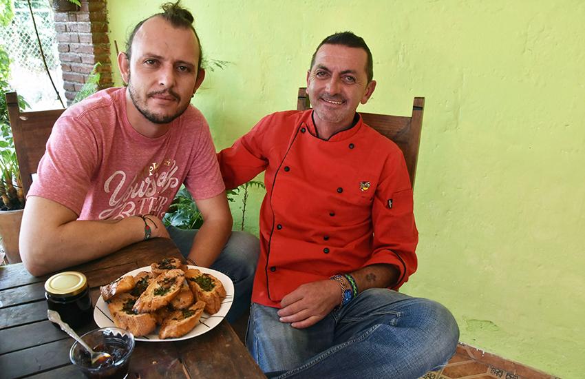 """Puebla cousins César Galeazzi Bortolotti and Antonio """"Pichi"""" Zechinelli Galeazzi."""