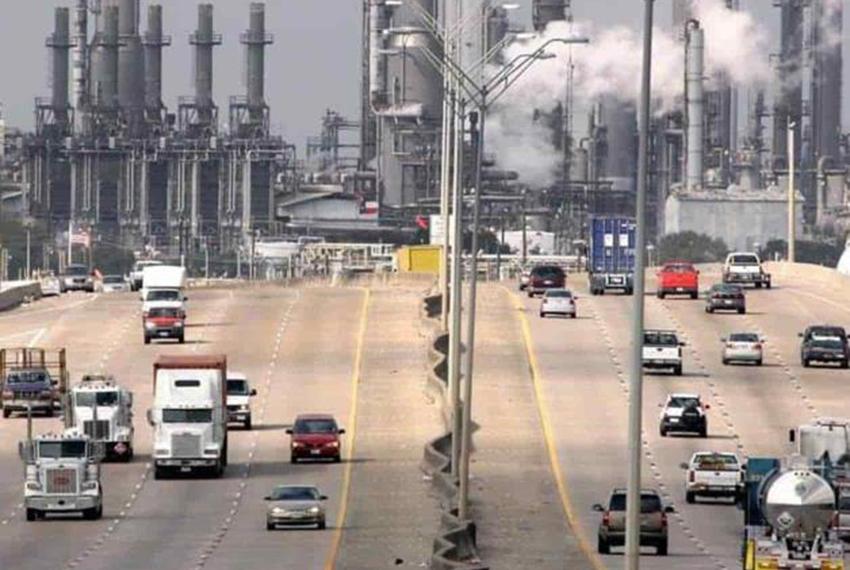 Deer Park refinery near Houston, Texas.