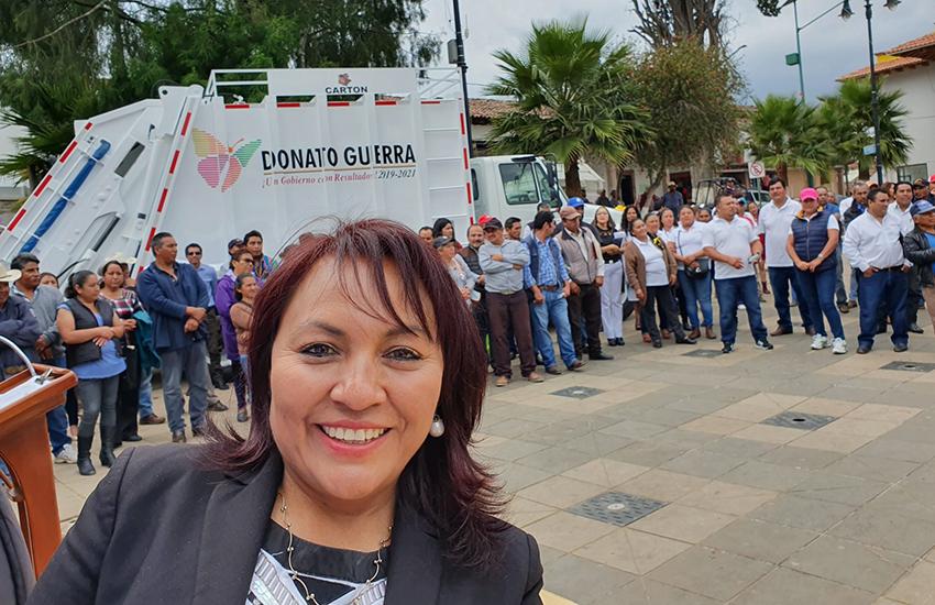 Donata Guerra, México state, Mayor Eliza Ojeda
