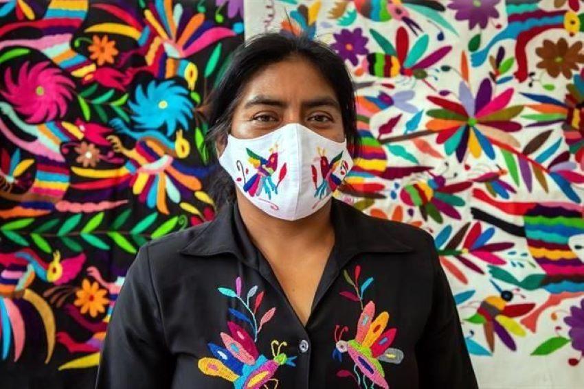 Tenango de Doria textile artisan Susana Hernández Núñez.