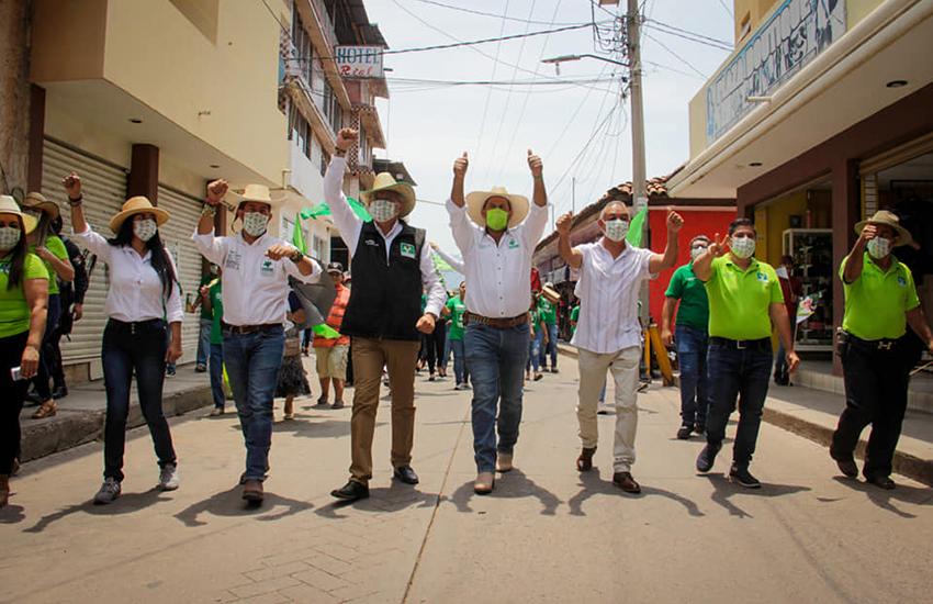 Michoacán gubernatorial candidate Juan Antonio Magaña