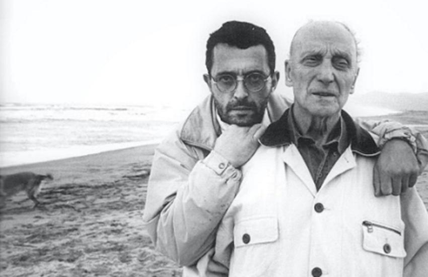 Georges Bartoli with his uncle, artist Josep Bartoli.