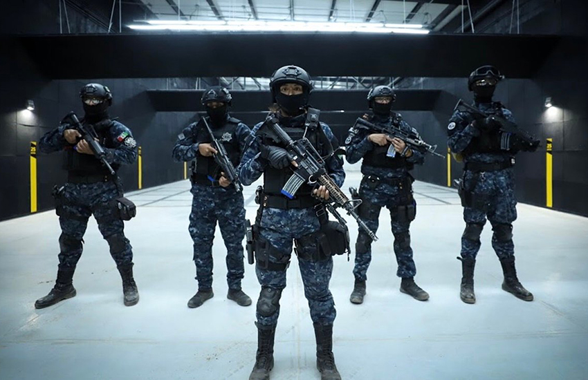Guanajuato state police Tactical Group division