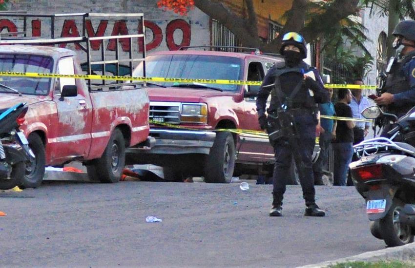 crime scene Moroleón, Guanajuato